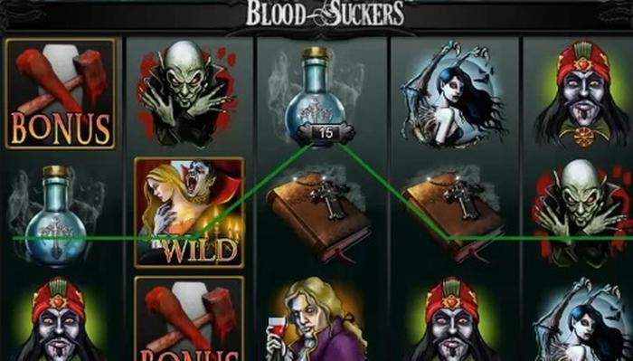 Blood Suckers Spelautomater med hög vinståterbetalningsprocent från NetEnt