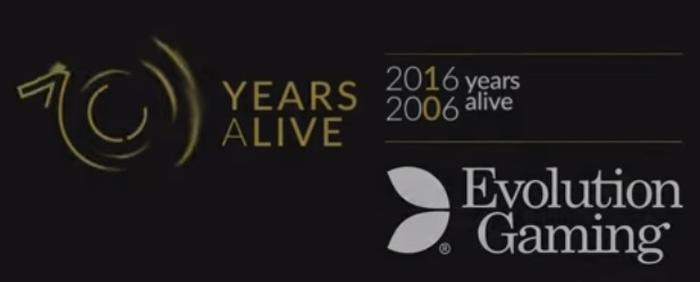 Evolution Gaming 10 år